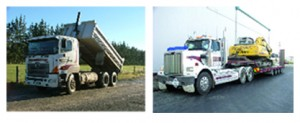 All types of trucks & trailers, including heavy transport.
