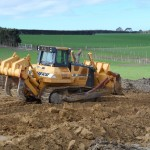 42 TONNE DOZER MOVING A HILL FOR A CENTRE PIVOT
