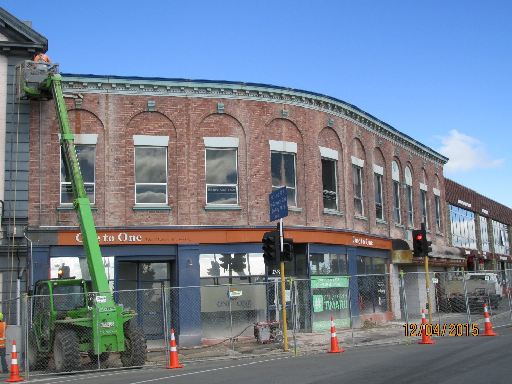 Timaru Business Hub Pre Demolition